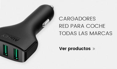 Ver Cargadores de Red para coche de todobarato24h.com